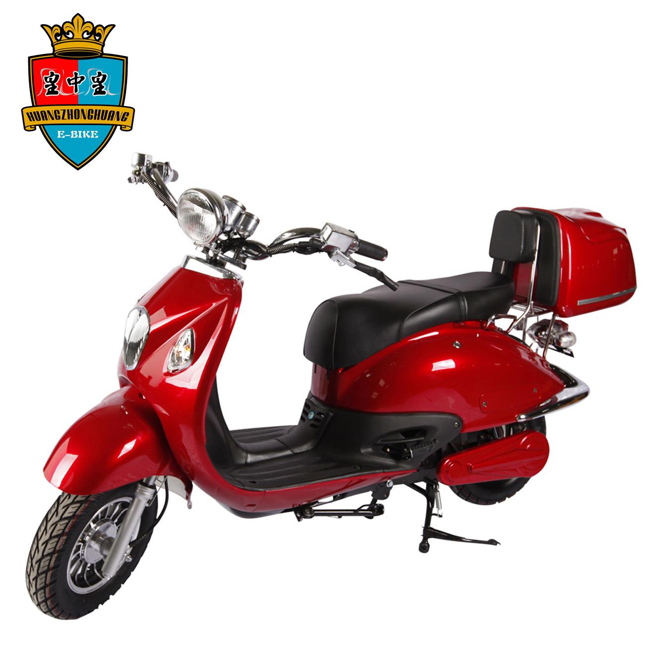 1500W Motor 72W 20ah Lead Acid / Lithium Battery Electric Motorcycle