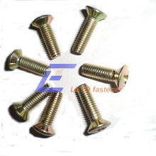 ISO 7047-Countersunk Raised Head Screws with Cross Recess