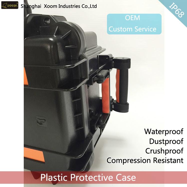 Cash Transportation Case Watertight Power Bank Case IP67 Large Waterproof Tester Case