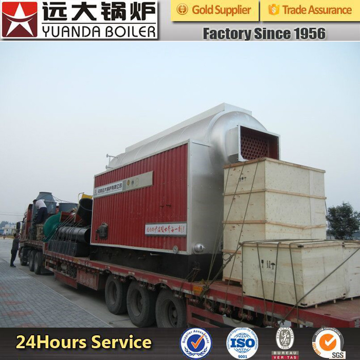 Factory Price Fixed Grate Manual Wood Fired Steam Boiler for Sale
