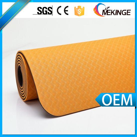 Trade Assurance Newest Fitness Mat/ Yoga Mat TPE