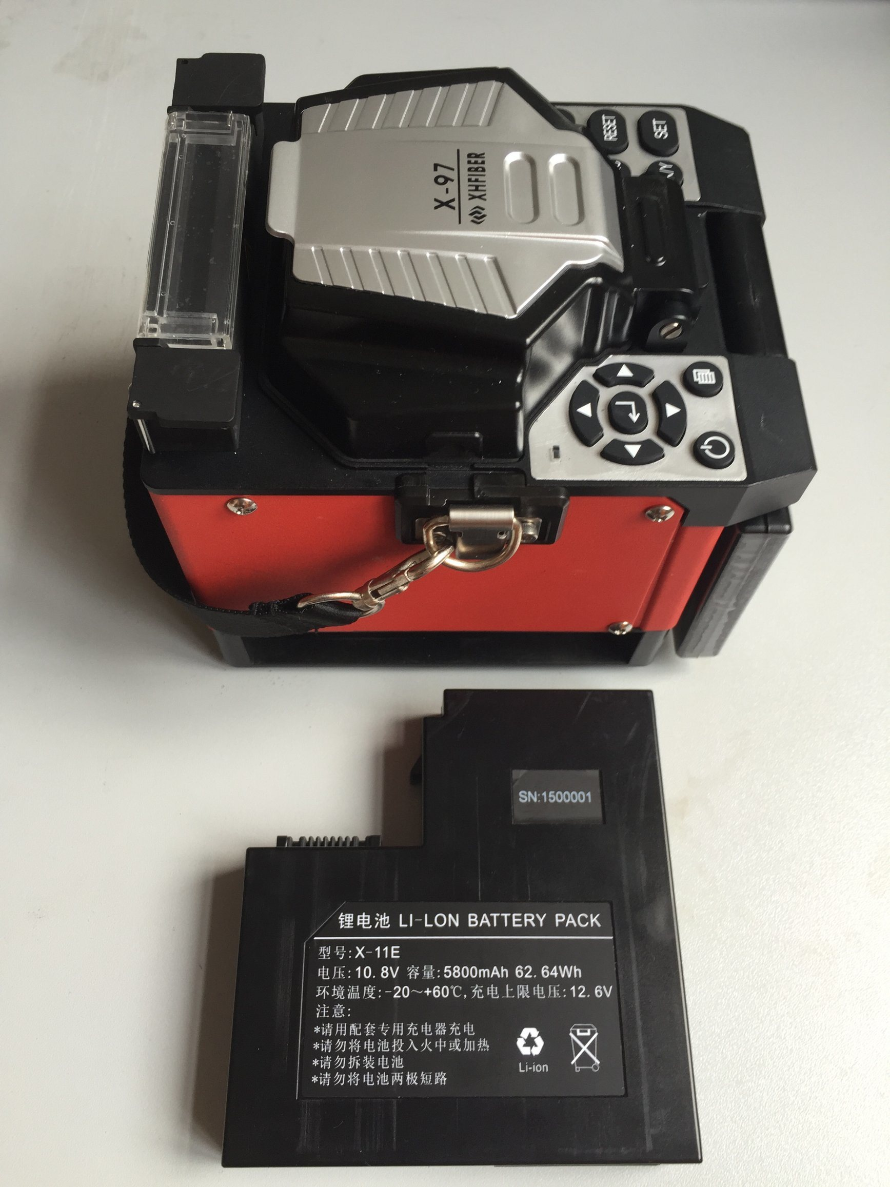 Shinho X-97 Fiber Optic Fusion Splicer Kit