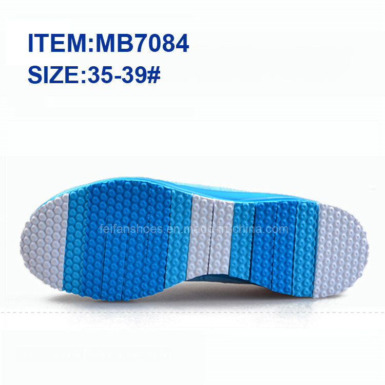 Latest Women Slip-on Sports Casual Shoes Walking Shoes Wholesale (MB9040)