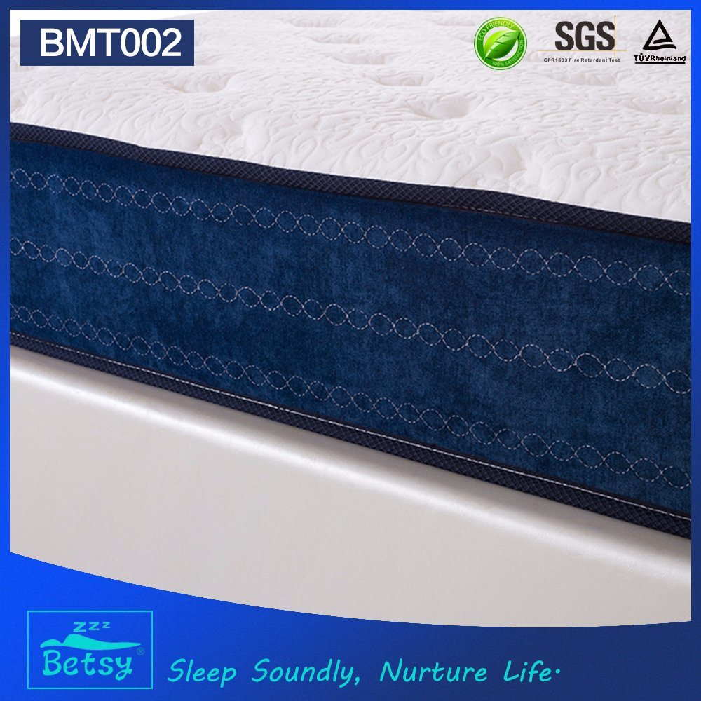 OEM Compressed Mattress Sizes 26cm High with Relaxing Pocket Spring and Massage Wave Foam Layer