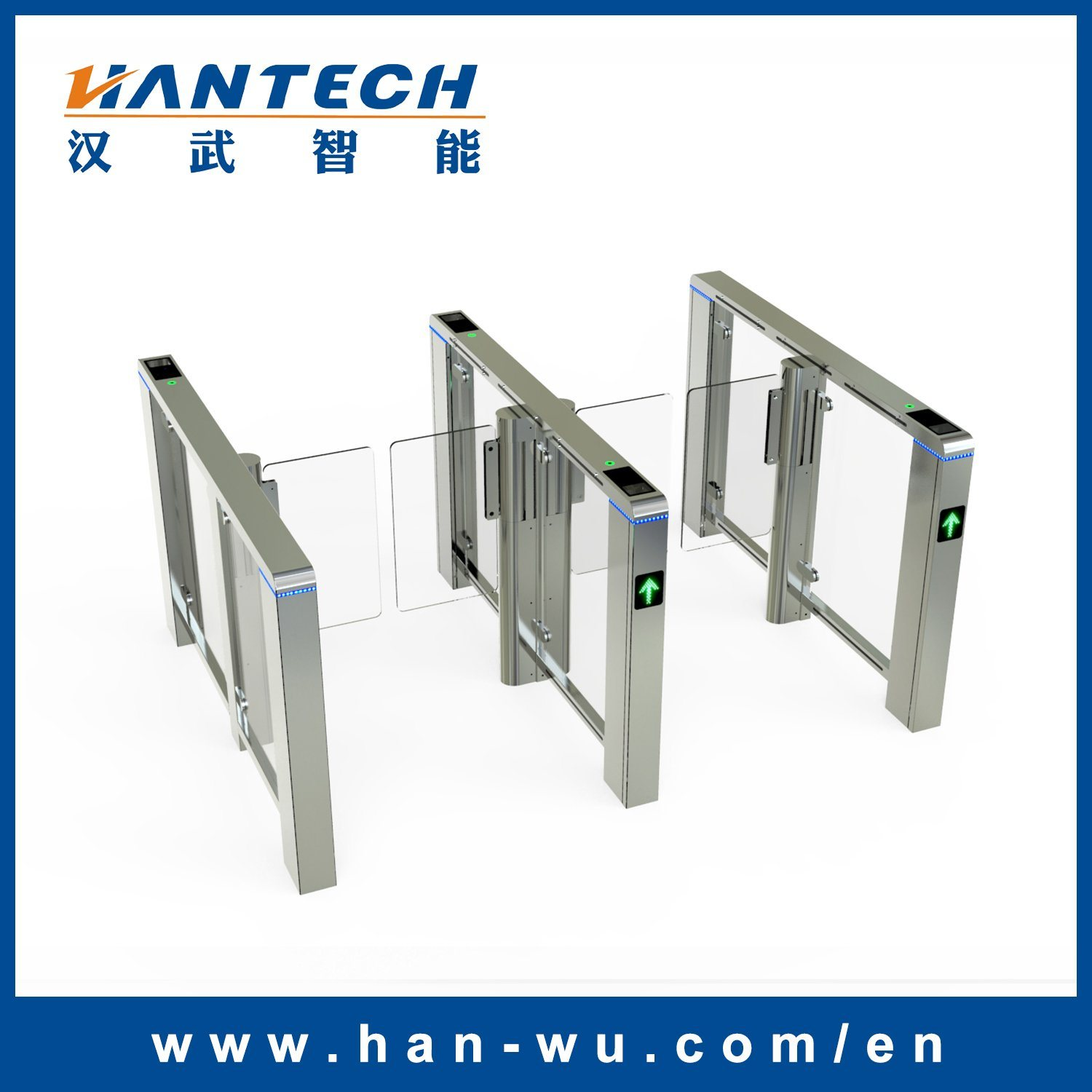 Fingerprint Access Control Fast Speed Gate