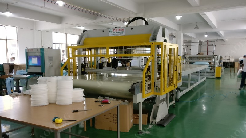 100 Layers Facial Mask Fabric Cutting Machine