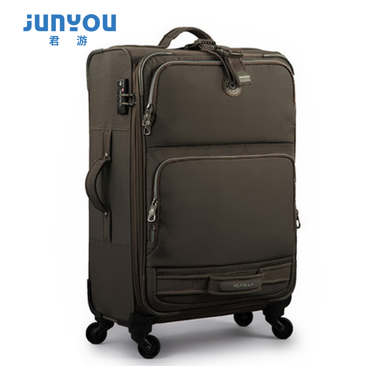 Good Quality Fashion Waterproof 24′′ Female Nylon Luggage