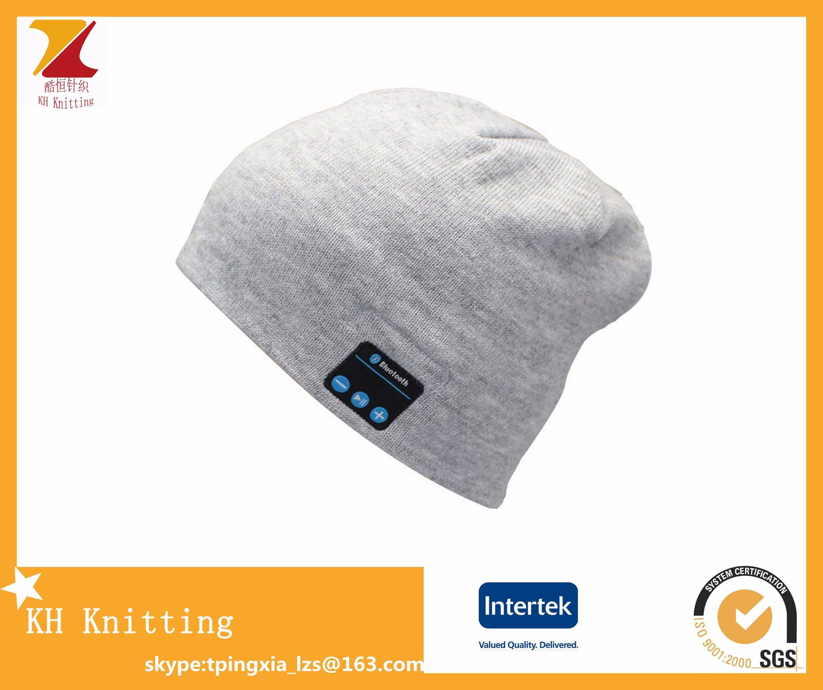 Fashion Warm Wireless Bluetooth Music Caps Hats for Winter