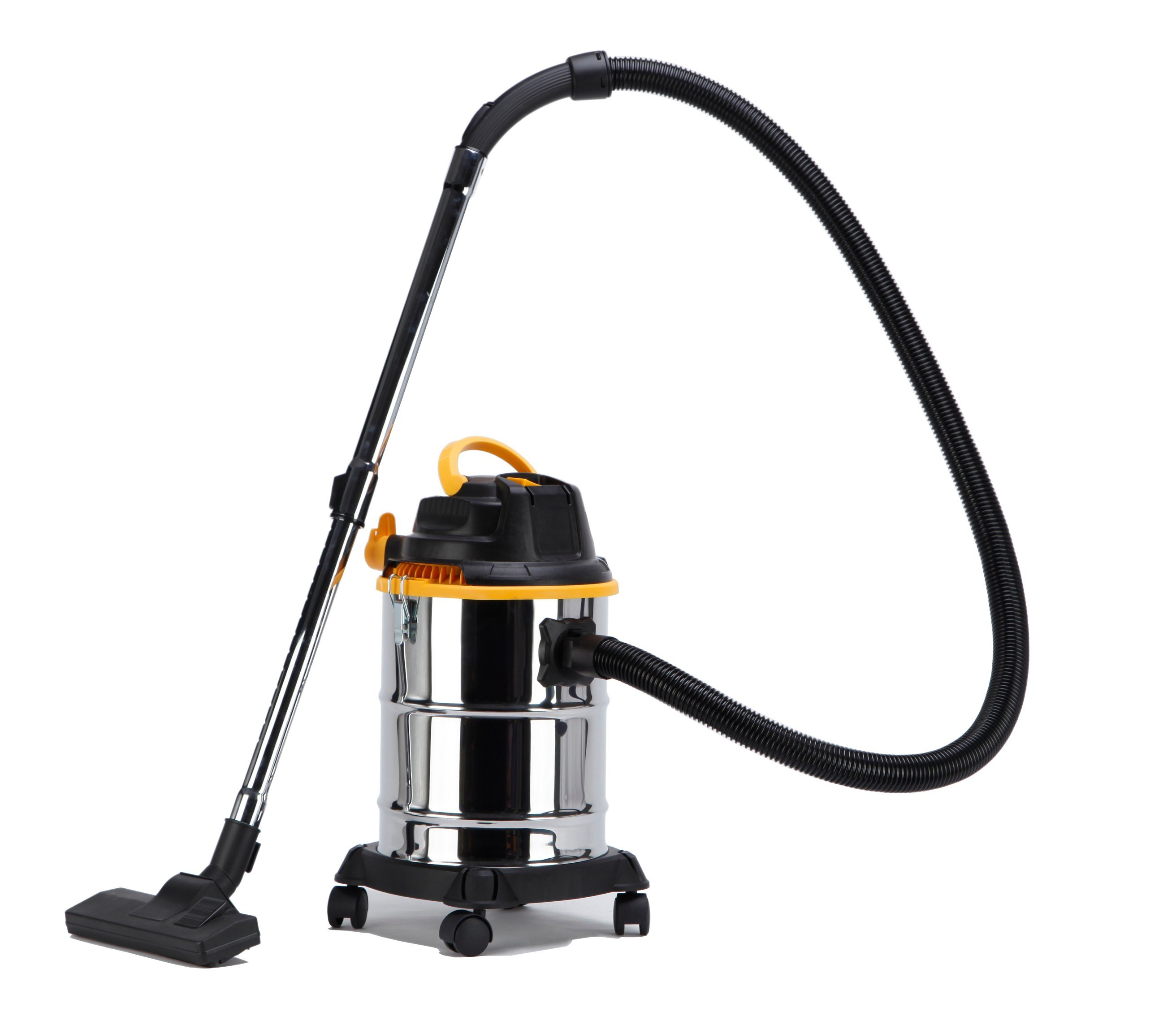 505-18L Stainless Steel Tank Wet Dry Water Dust Vacuum Cleaner with or Without Socket