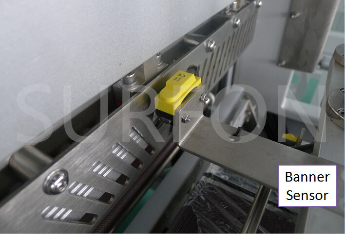 High Speed Continuous Motion Auto Electronic Arts Strike Boxes with Film Wrapping Machine