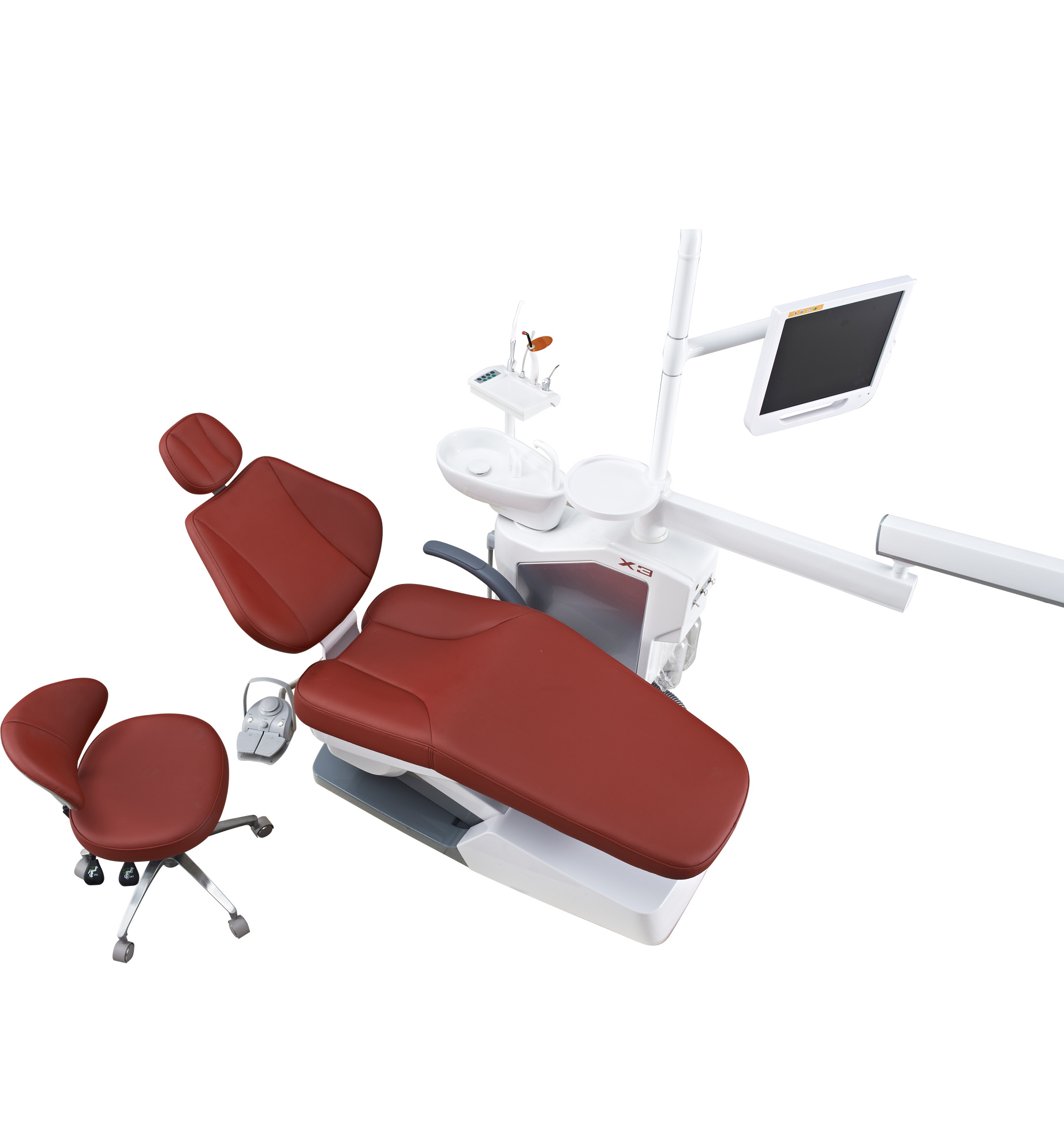 2017 Hot Sale Dental Unit with Cabinet Can Move