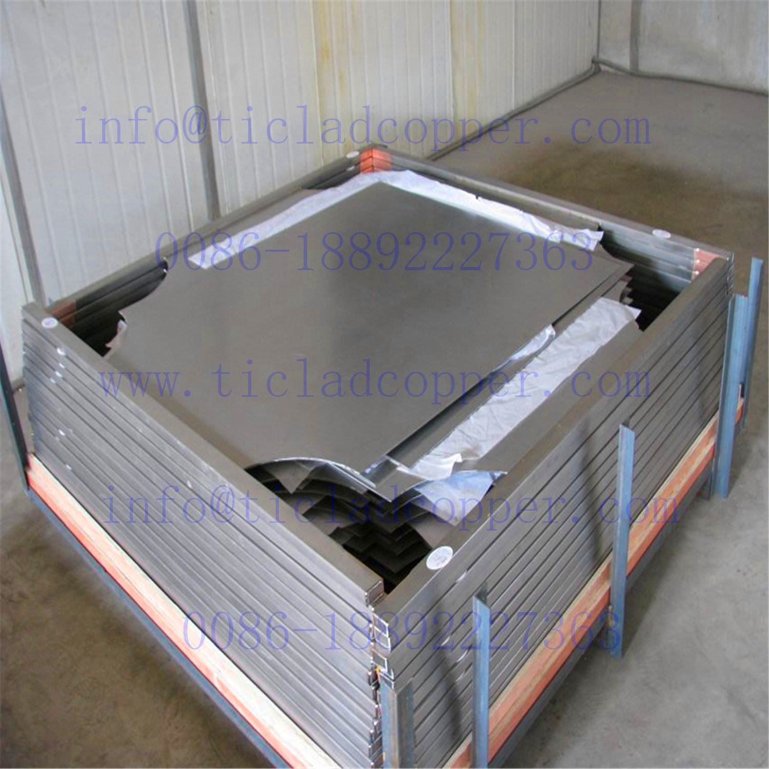 Titanium Clad Copper Cathode Plate for Wet Metallurgy