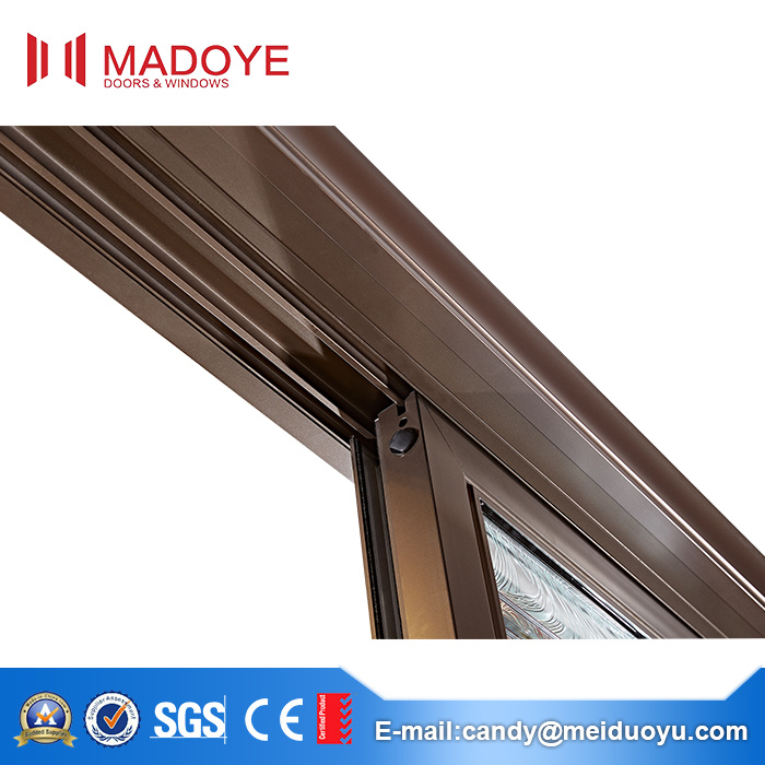 Durable Aluminum Frame Glass Horizontal Sliding Door