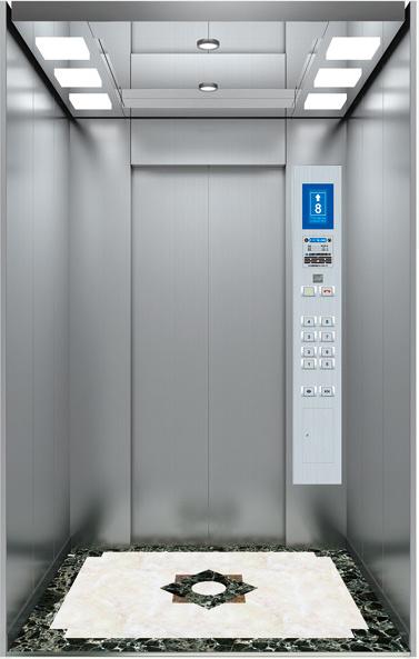 FUJI Energysaving Top 5 Passenger Elevator Residential Lift