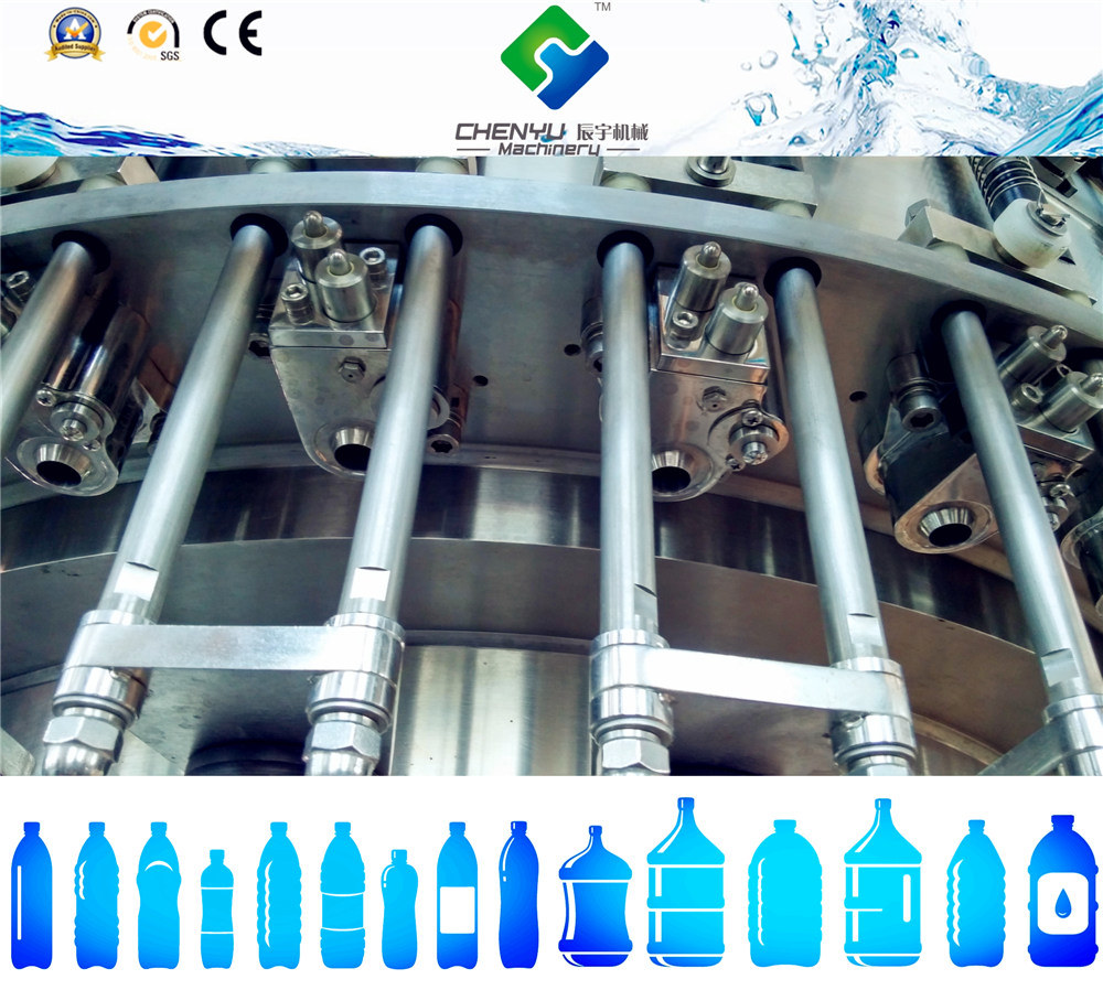 Plastic Packaging Material and Beverage Application Automatic Carbonated Drinks Filling Machine