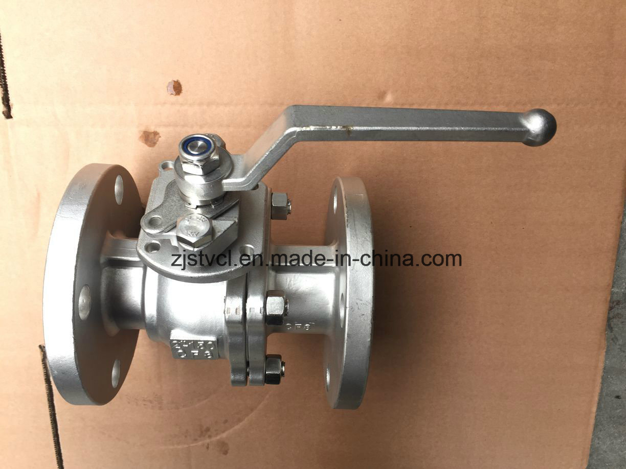 API Flange End Stainless Steel Floating Ball Valve