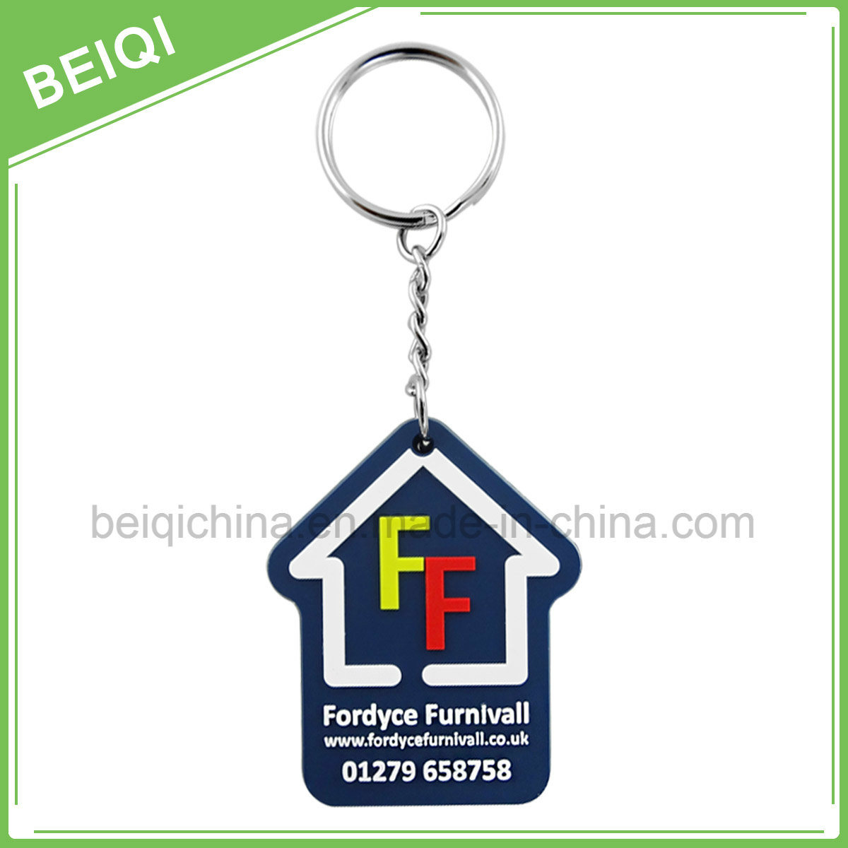Fashion Custom Rubber Promotional Key Chain /Key Holder