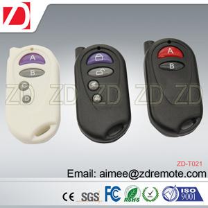 Plastic RF Remote Control