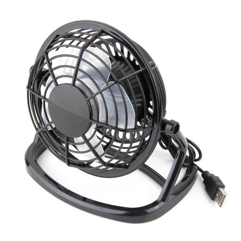 Laptop Computer Portable Mute USB Cooler Desk Mini Cooling Fan