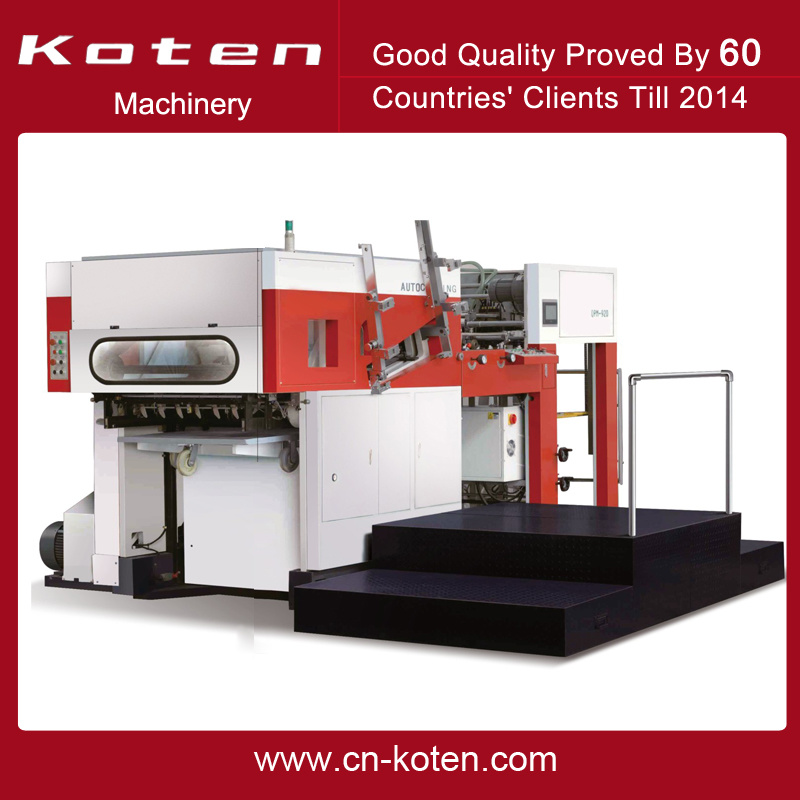 Automatic Die Cutting Creasing Machine