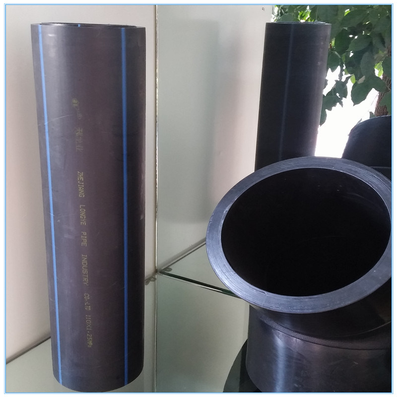 HDPE Pipe and Pipe Fitting for Sewage