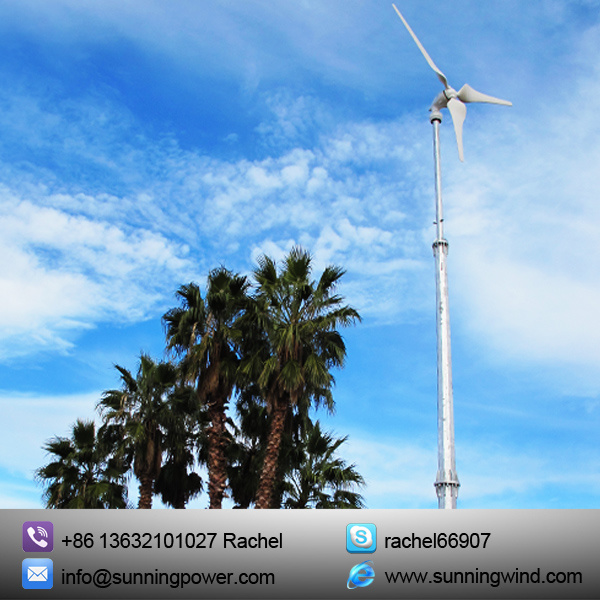 5kw Wind Turbine Generator Renewable Energy with Ce Certification