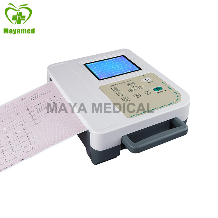 My-H008A 12 Lead ECG Test with Printing System