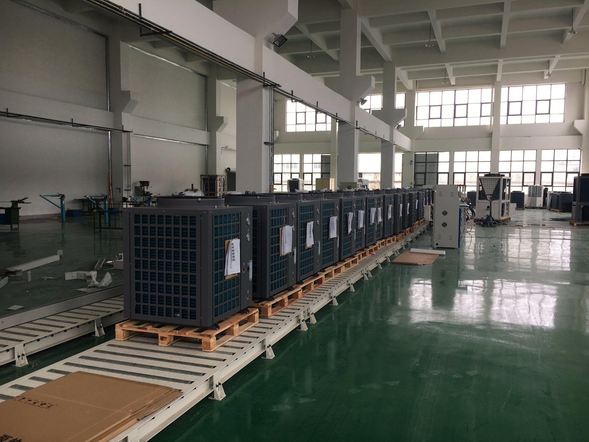 75kw Air Source Heat Pump Water Heater for 55~60 Deg C Hot Water