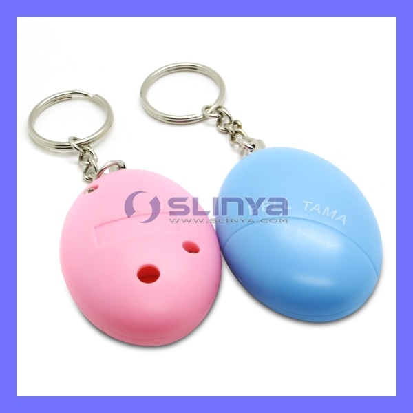 Women Defend Attack Device Emergency Alarm Keychain Safety Personal Alarm