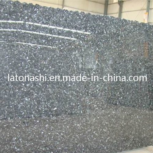 Prefabricated Blue Pearl Granite Stone Slab for Tombstone, Backsplash, Countertop