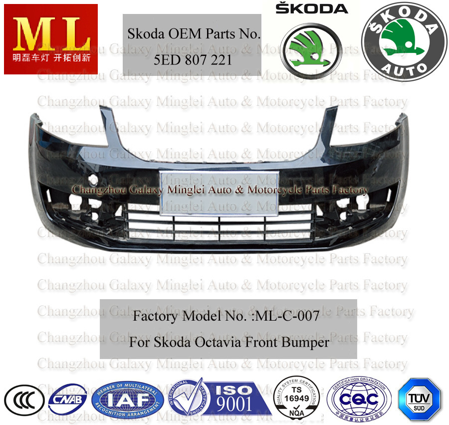 Auto Bumper for Skoda Octavia From 2013 (5ED 807 221)