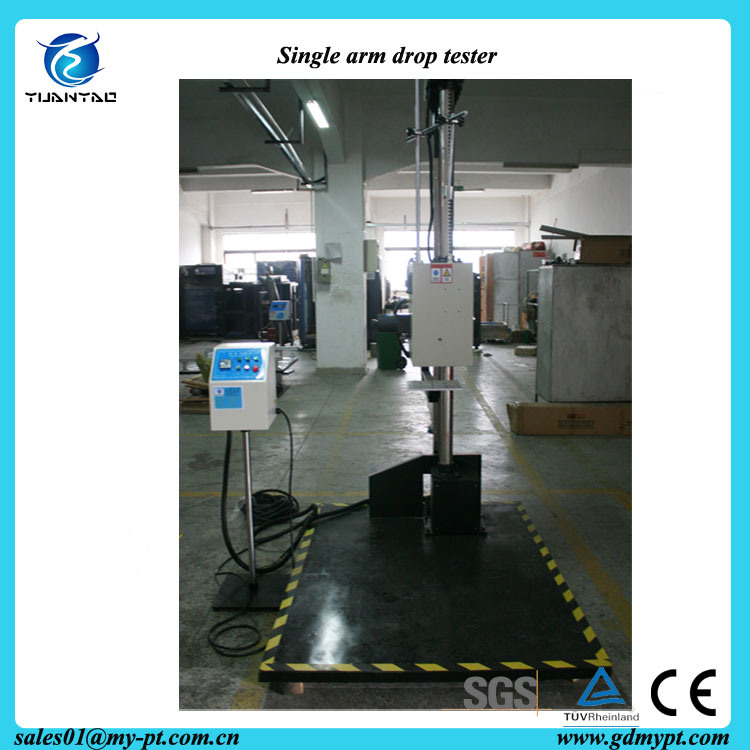 Single Arm Heavy Load Package Drop Testing Machine