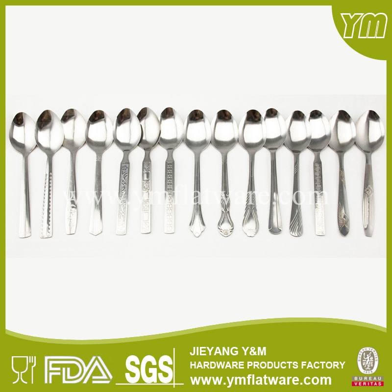 Wholesale Popular Cheap Promotional Metal Spoon