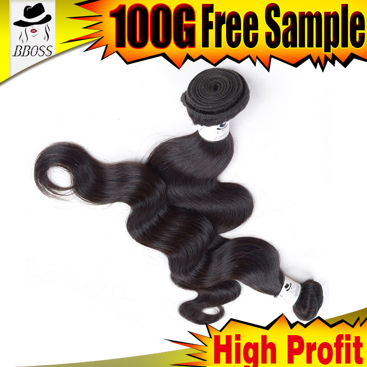 Kbl Human Hair Two Tone Brazilian Hair Weaving