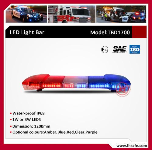 PC LED Emergency Warning Light Bar (TBD1700)