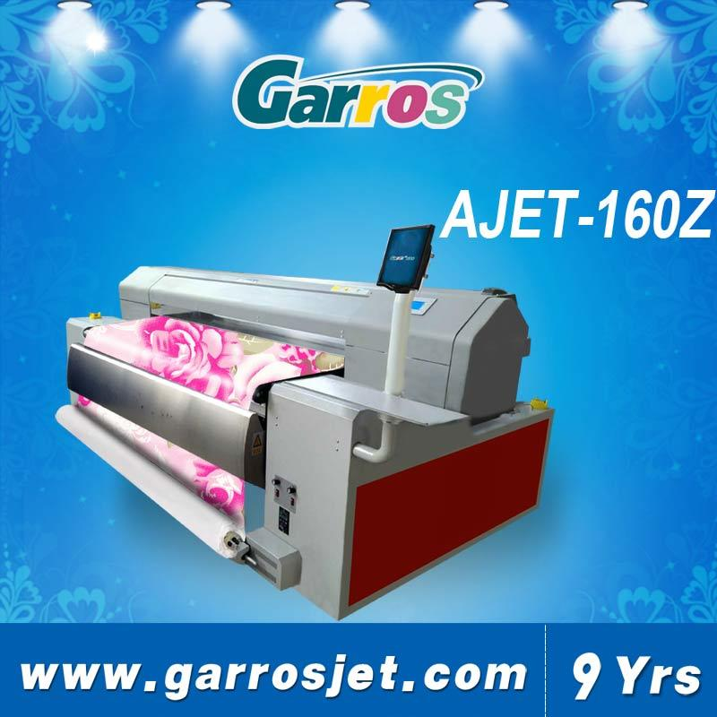 Garros 1.6m Inkjet Direct Digital Textile Belt Printer with Double Print Head