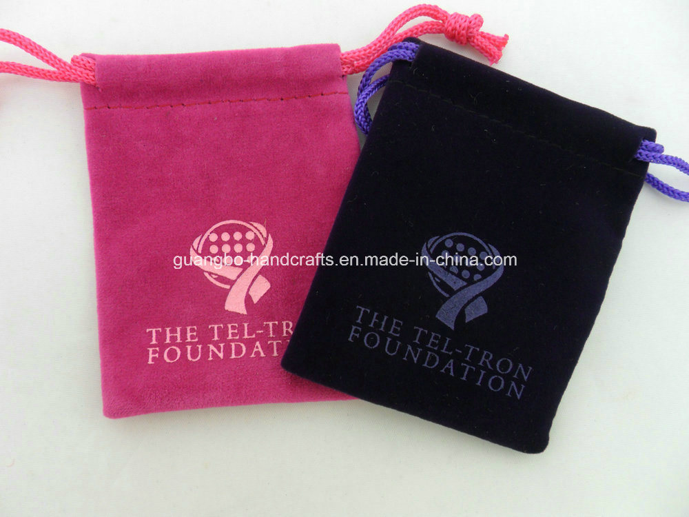 The Pouch with a Metal Button Jewelry Pouch