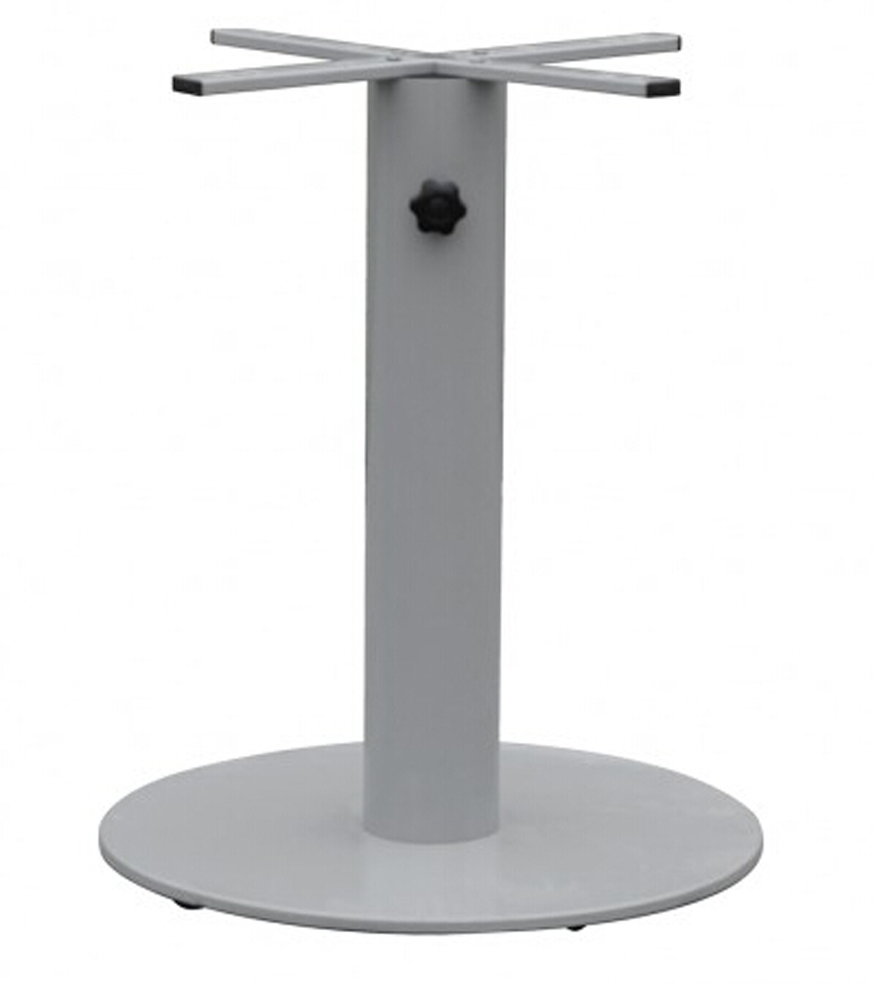 Indoor & Outdoor Metal Dining Table Base with Umbrella Hole (TB-15505)