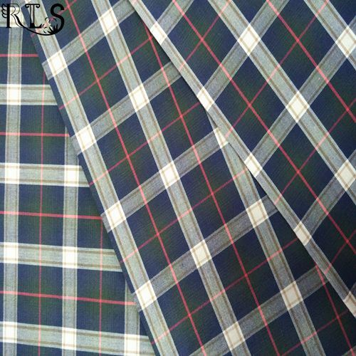 100% Cotton Poplin Yarn Dyed Fabric Rls50-5po
