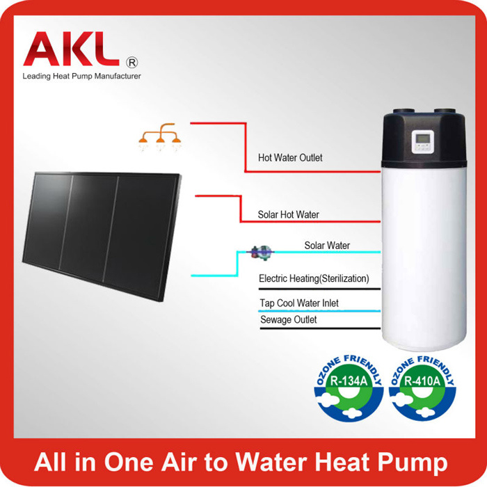 Hot New 200L All in One Air Source Heat Pump Water Heater