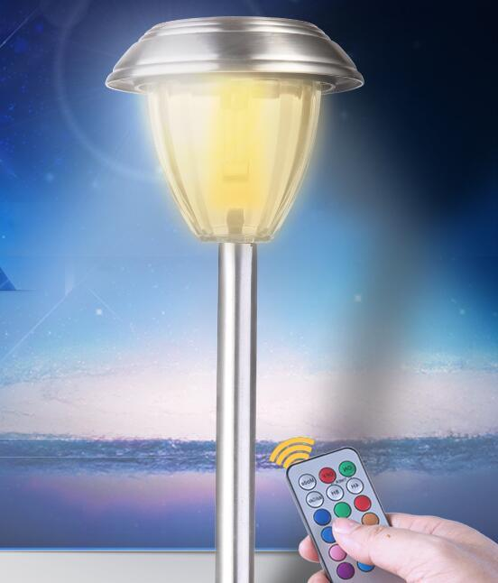Solar Path Light with Remote Control