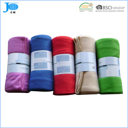2015 Solid Color Polar Fleece Blanket Bedding Set