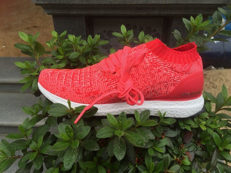 Ultra Boost Uncaged Ray Red Pink Womens Size 6-9