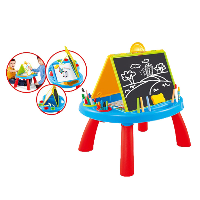 Multi-Function Kids Plastic Learning Desk (10262625)