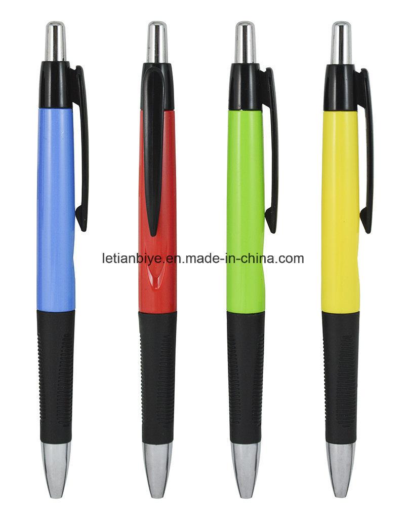 Textured Grip Ball Point Pen, Plastic Pen Gift (LT-C022)