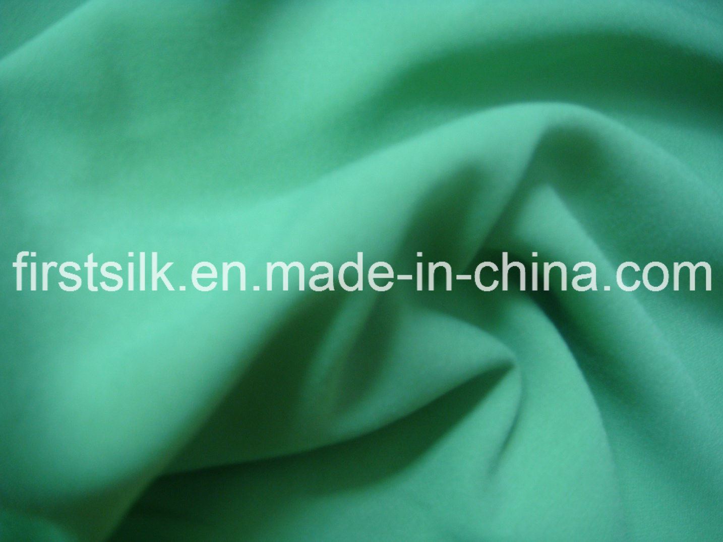 Polyester Fabric with Silky for Lady, Silk Cdc, Silk Chiffon, Poly Fabric