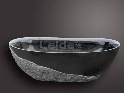 Vasca da bagno nera assoluta del granito ld i005 vasca - Vasca da bagno nera ...