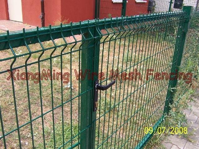 Cancelli recinzione della rete fissa del blocco per for Rete stirata per cancelli