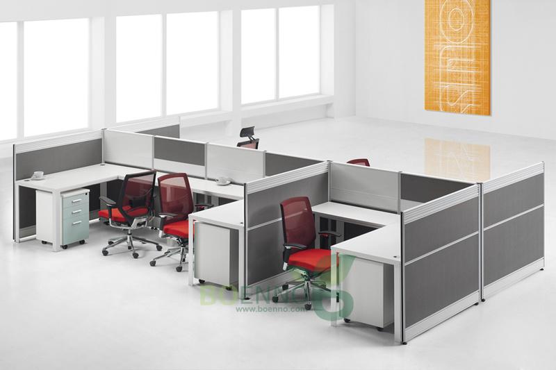 meubles en aluminium de division de bureau wd 018c. Black Bedroom Furniture Sets. Home Design Ideas