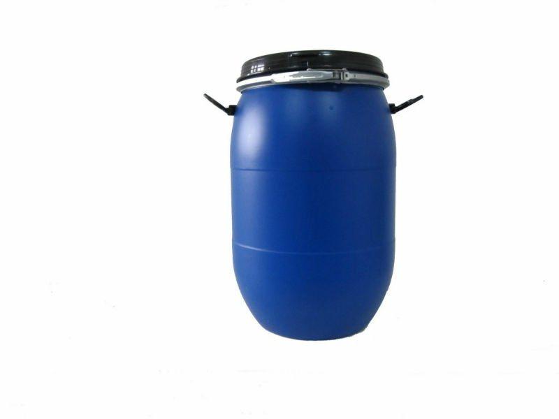 60l tambor pl stico do cilindro continer com punho for Tambores para agua